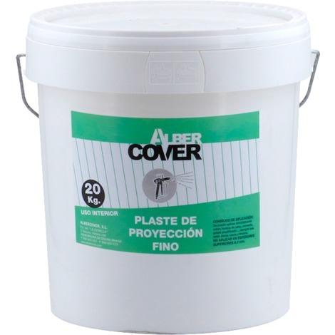Plaste de proyección fino 20 kg Alber Cover