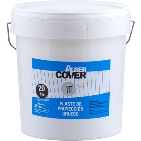 Plaste de proyección grueso 20 kg Alber Cover