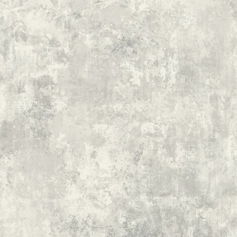 Plaster Chalk Grey Wallpaper Grandeco Industrial Concrete Effect Textured Vinyl