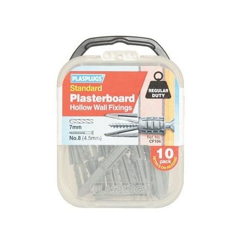 Plasterboard Fixings Regular-Duty