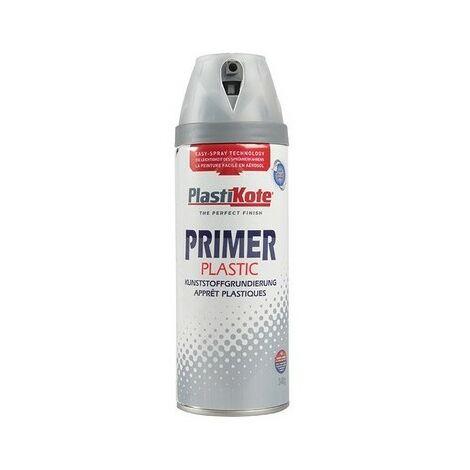 Plasti-Kote PKT25606 Twist & Spray Plastic Primer 400ml