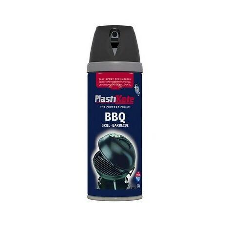 Plasti-Kote PKT26020 BBQ Twist & Spray Black 400ml