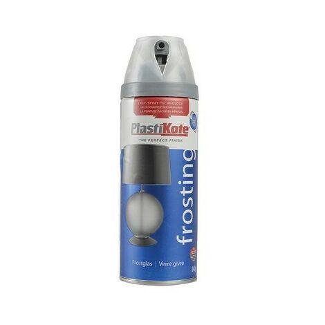 Plasti-Kote PKT27183 Twist & Spray Glass Frosting 400ml