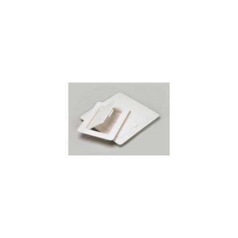 Plastic Access Panel Rectangular White Finish