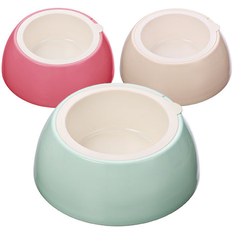 Plastic bowl for dogs and cats Baby Pop model Ferribiella