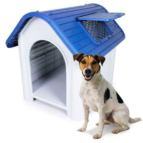 Plastic doghouse small size inside outside OLLIE