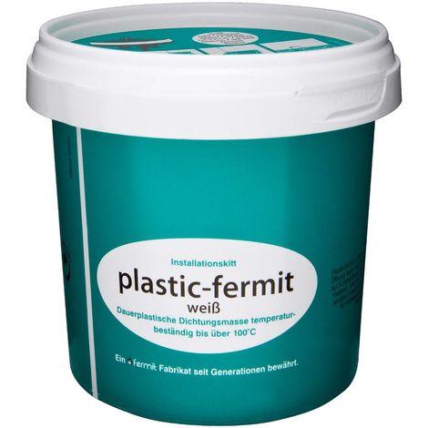 Plastic-Fermit Dichtungsmasse weiß 500g