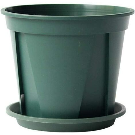 "main image of ""Plastic Flower Pot Rose Clematis Planting Pot Gallon Flower Pot"""