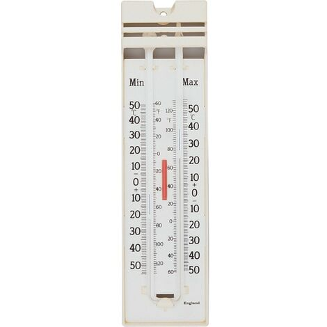 Plastic Max Min Wall Thermometers