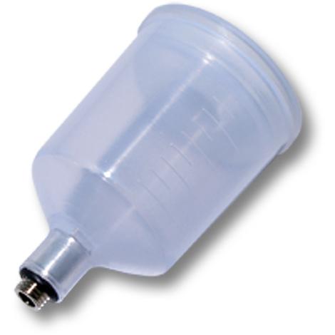 Plastic Paint Jar Cup for airbrush gun, capacity 22ml, airbrush pistol spare part