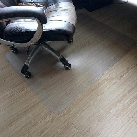"main image of ""Plastic PVC Non Slip Office Chair Desk Mat Floor Computer Carpet Rug Protector"""