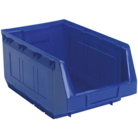 Plastic Storage Bin 210 x 355 x 165mm - Blue Pack of 20