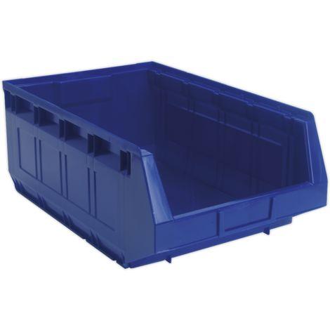 Plastic Storage Bin 310 x 500 x 190mm - Blue Pack of 12