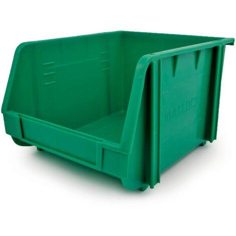 Matlock MTL3 Plastic Storage Bin Green