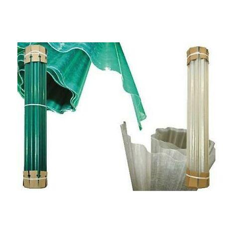 Plastica ondulata laminato in vetroresina onda copertura h mt2,5 rot 40mt=100mq