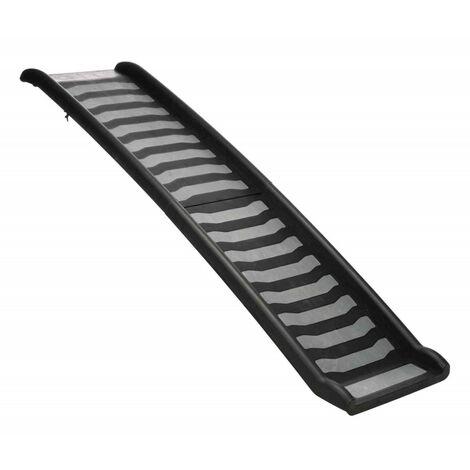 Plástico plegable / rampa TPR. 39 x 160 cm . para el perro