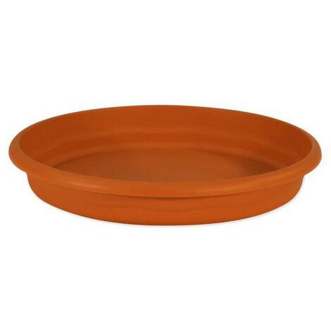 """main image of """"PLASTIKEN Plateau rond Ø 70 cm pour pot rond - Terracotta"""""""