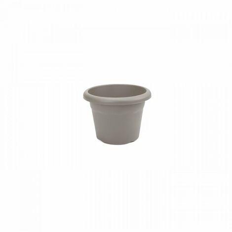 PLASTIKEN Pot a fleurs Ø 30 cm rond - Taupe
