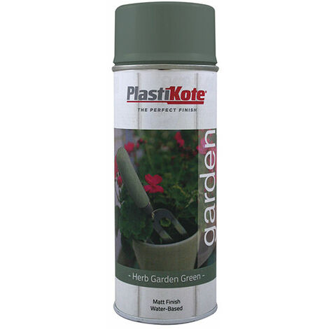 PlastiKote 440.0027202.076 Garden Colours Spray Paint Herb Garden Green 400ml