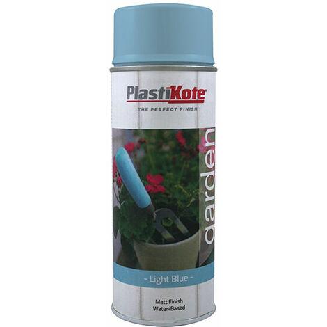 PlastiKote 440.0027205.076 Garden Colours Spray Paint Light Blue 400ml