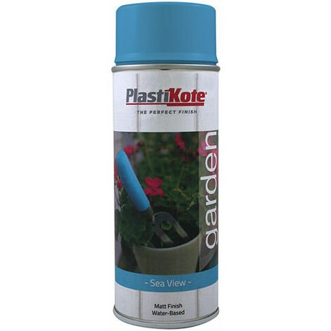 PlastiKote 440.0027206.076 Garden Colours Spray Paint Sea View 400ml