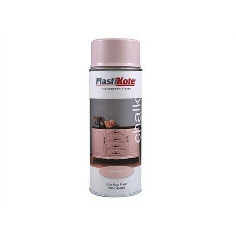 PlastiKote Chalk Spray Paint Pale Rose 400ml