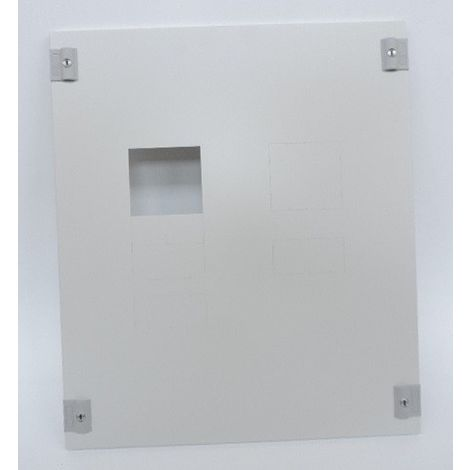 Plastron métal 1/4 tour pour 1 à 2 DPX250 ou DPX³630 ou avec différentieLen verticale dans XL³400 hauteur 600mm LEGRAND 020322