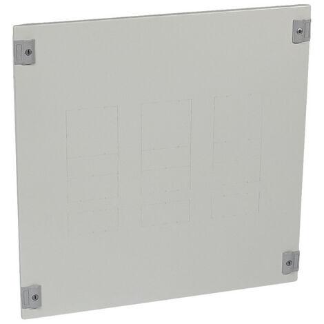 Plastron métal 1-4 tour pour 1 à 3 DPX630 avec bloc différentiel position verticale dans XL34000 et XL3800 24 modules (020822)
