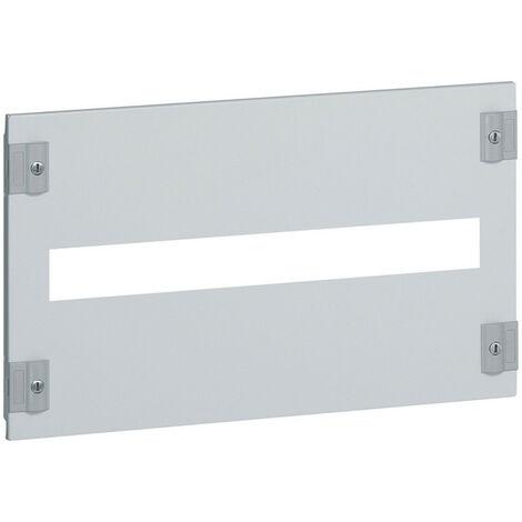 Plastron métal pour branchement tarif jaune pour association verticale DPX IS250 et DPX250 pour XL3400 hauteur 300mm (020310)