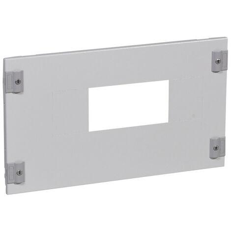 Plastron métal pour branchement tarif jaune pour association verticale DPX IS630 et DPX pour XL3400 hauteur 300mm (020307)