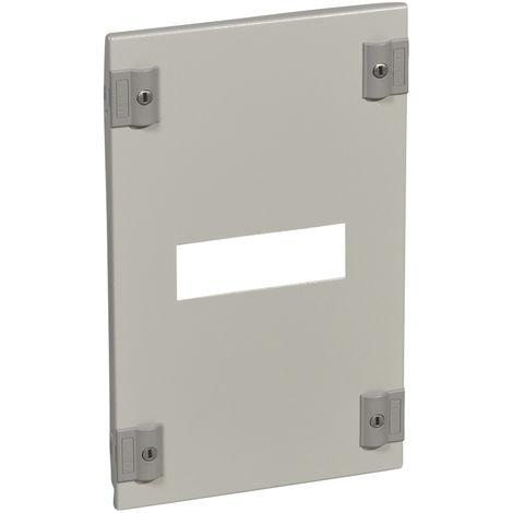 Plastron métal XL³ 400 - pour 1 DPX³ 250 gaine à câble - horizontal - H 400