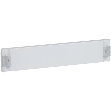Plastron plein isolant XL³ 160/400 - pour coff/armoire espace dédié - H 100 mm