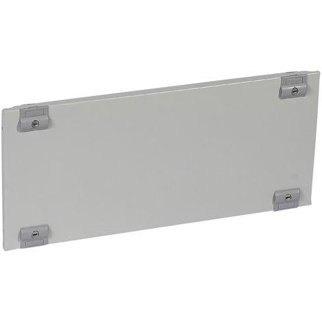 Plastron plein métal XL³ 400 - pour gaines à câbles - H 550 mm