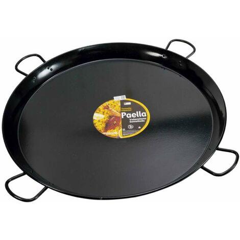Plat à paella émaillé Ø115 cm - Noir