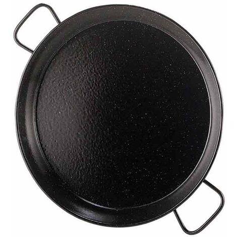 Plat à paella émaillé Ø 60 cm - Noir
