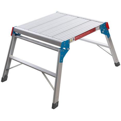 Plataforma cuadrada de aluminio 150 kg