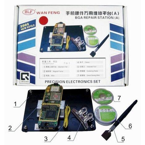 Plataforma para trabajo con placas PCB - modelo A