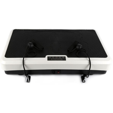 Plataformas vibratorias Entrenamiento vibratorio en blanco y negro 65 * 39.5 * 13cm Negro-blanco