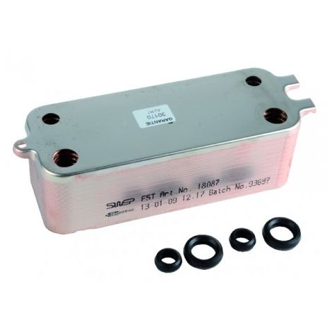 Plate exchanger - DIFF for Bosch : 87167723990