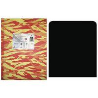 Plate-forme de sol noir poêle à bois et de protection cm de granulés. plates-formes 60x70.