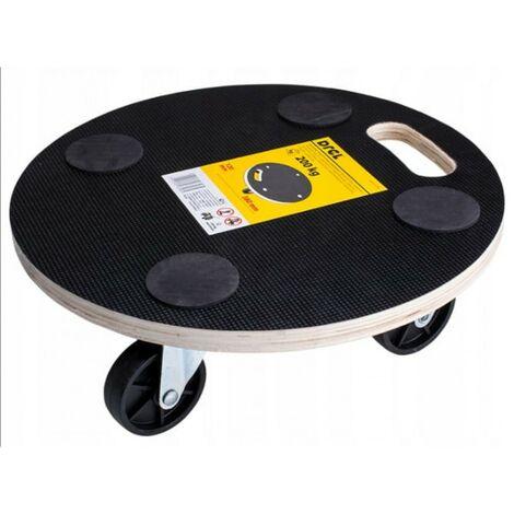 Plate-forme de transport laminée ronde de 380 mm