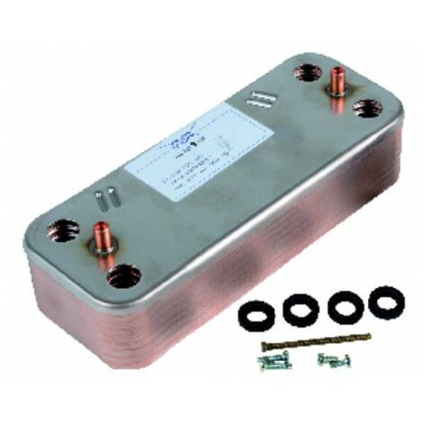 Plate heat exchanger - DIFF for De Dietrich : 86665753
