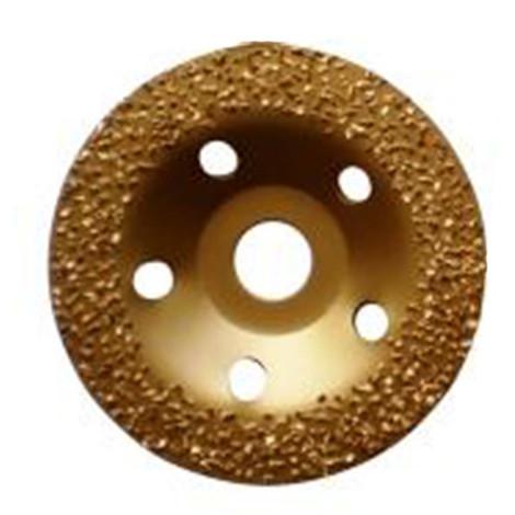 """main image of """"Plateau à poncer carbure de tungstène GOLD GRINDER D.125 mm x Al. 22,23 mm x Gr. 12 - Colle, vernis, PVC - Diamwood"""""""
