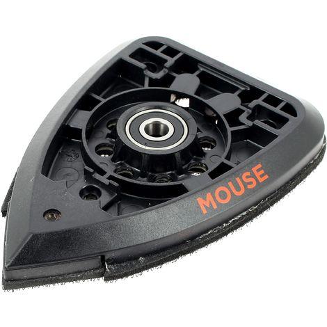 Plateau de poncage mouse pour Ponceuse Black & decker
