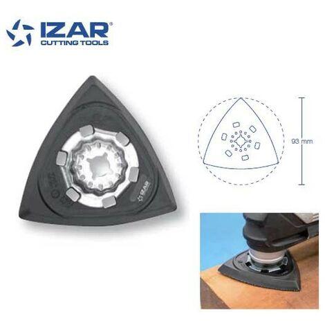plateau de ponçage triangulaire outil-multifonctions Starlock Izar 93 mm