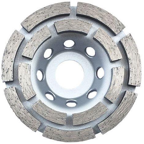 Plateau de surfaçage diamanté DINO D. 100 x Al. 22,23 x Ht. 4,8 / 5 mm - béton, matériaux de construction - Diamwood - -
