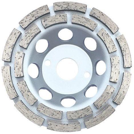 Plateau de surfaçage diamanté DINO D. 125 x Al. 22,23 x Ht. 4,8 / 5 mm - béton, matériaux de construction - Diamwood - -