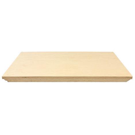 Plateau en bois pour servante - 475 x 33 x 685 mm