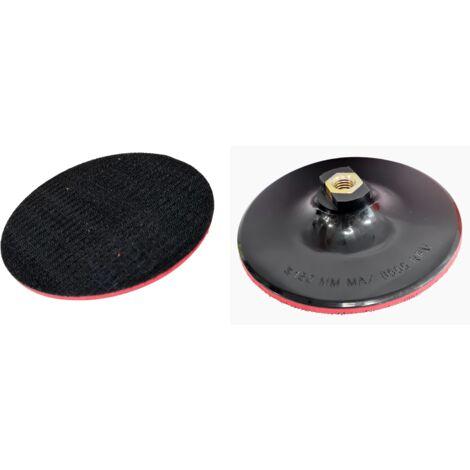 Plateau pour disque velcro diamètre 150 mm, sans trous