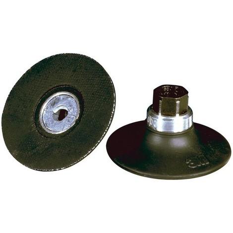 Plateau pour disques abrasifs Ø 76,2 mm (M14), Roloc (TM), Dureté : extra dur
